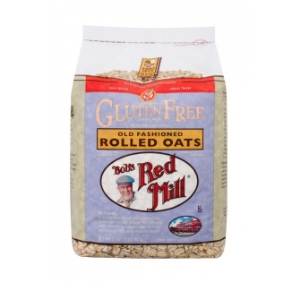Bob's Red Mill Gluten Free Rolled Oats are perfect for an easy toddler breakfast. Also great to use in homemade granola, cookies, or muffins.