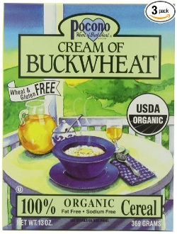 This organic cream of buckwheat cereal is a super fast and easy gluten free breakfast for babies and toddlers.