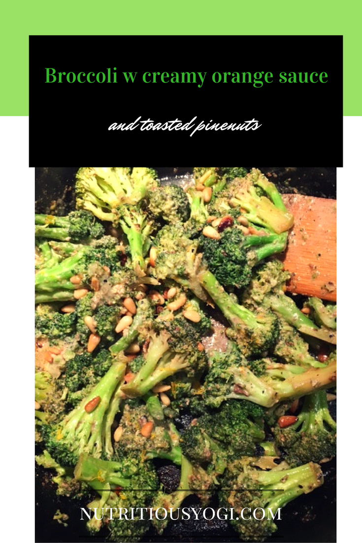 One of my favorite vegan recipes to date. If you have a craving for sweet, salty, crunchy, and savory, look no further than this scrumptious broccoli side dish.