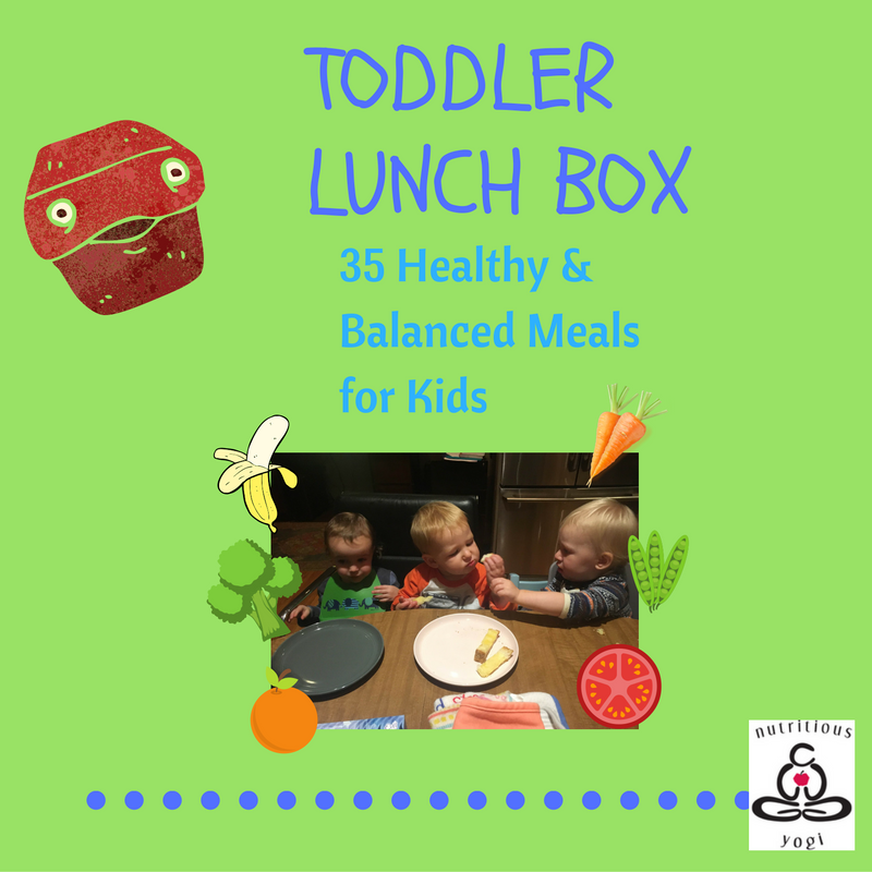 Need more tips? My brand new e-book,  Toddler Lunch Box: 35 Kid-Friendly, balanced meals is here!      Download now