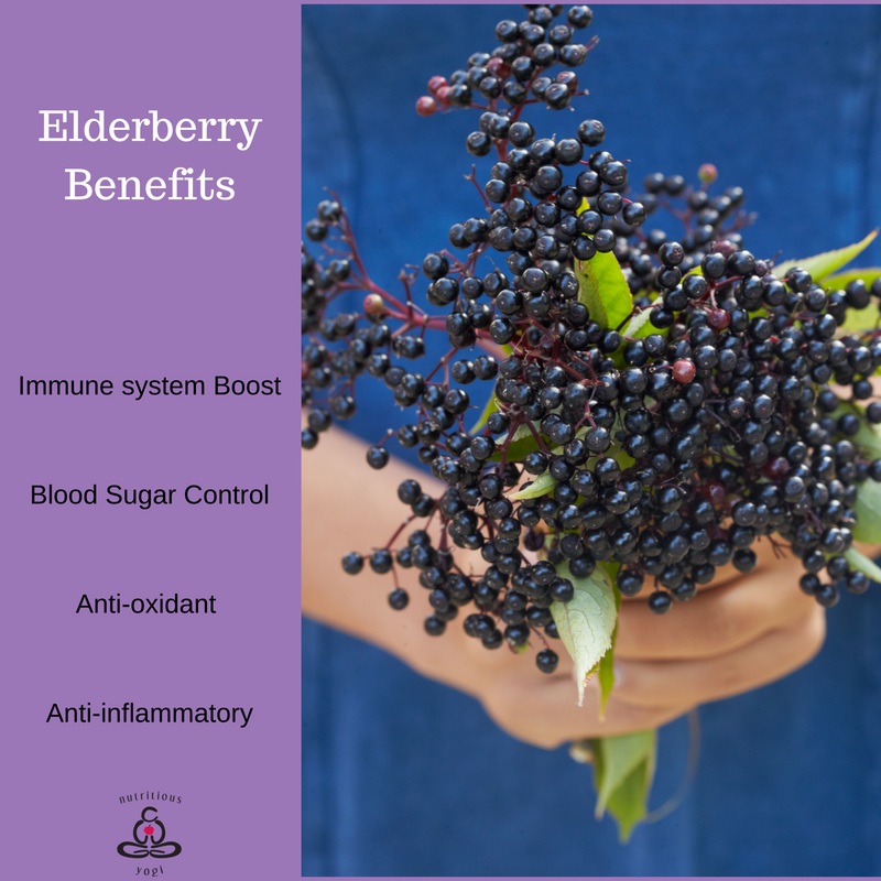 Cold Bustin Elderberry Gummies