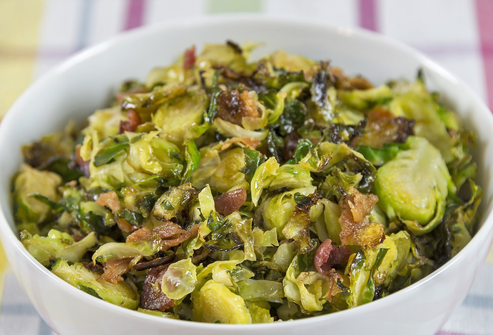Sweet & Tangy Roasted Brussel Sprouts