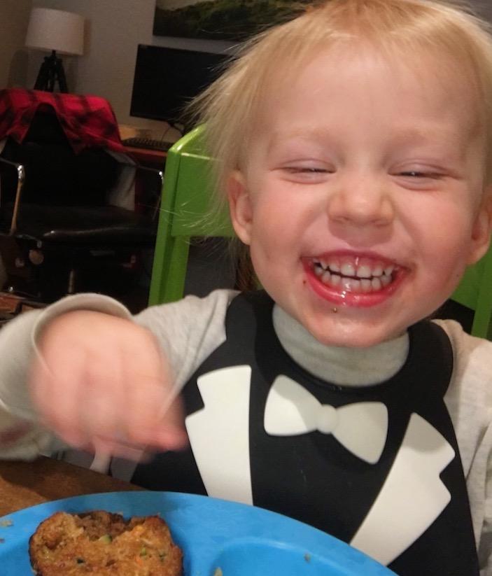 Gluten Free Zucchini Walnut Muffins: no sugar added