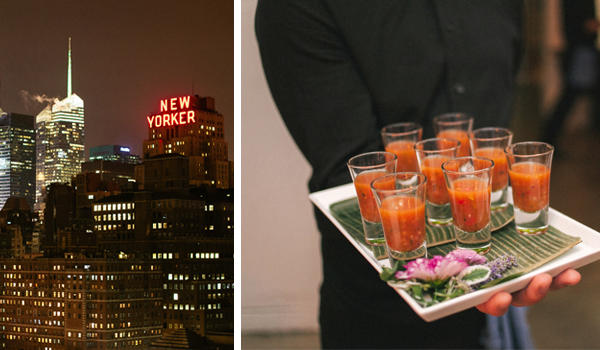 Wedding Menus NYC Inspired Cocktail Party Style Betty