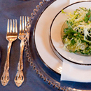 Italian Summer Soirée plated service