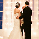 Asian Fusion Loft Wedding plated service