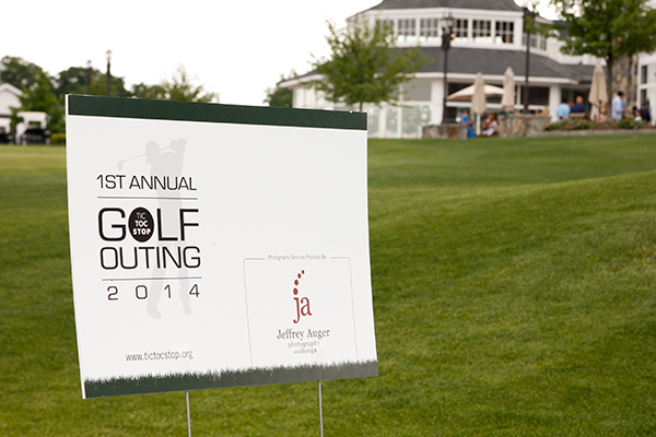 Proud to be the graphic designer and photographer for Tic Toc Stop's golf outing.