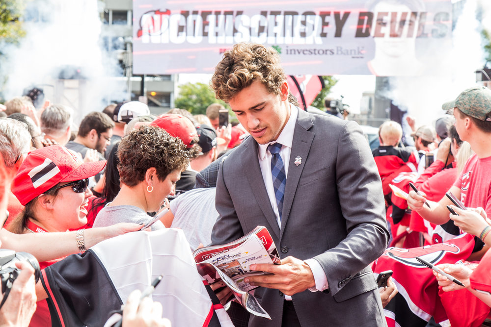 NJ Devils Home Opener — Red Carpet Event