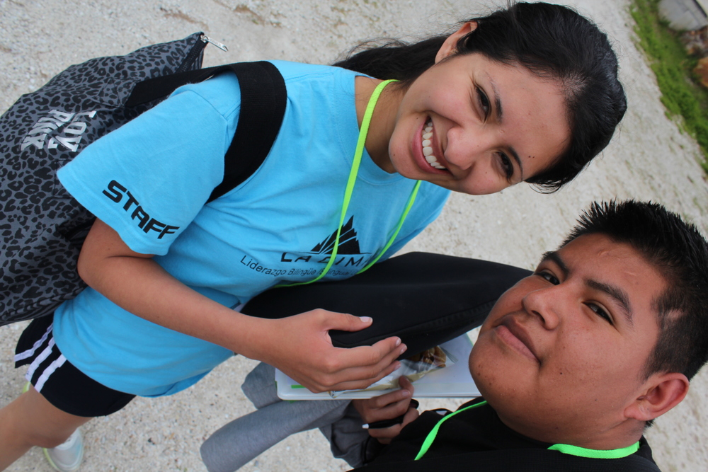 Serve with us as a Junior Counselor at La Cima or a Resident Counselor at ¡La Chispa!