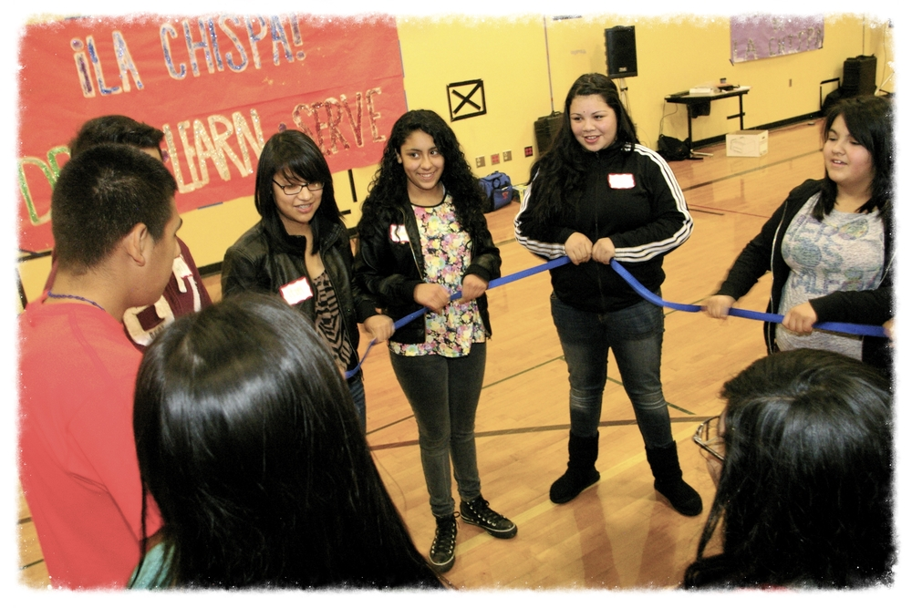 ¡La Chispa! Workshop at Sumner High School November 2012