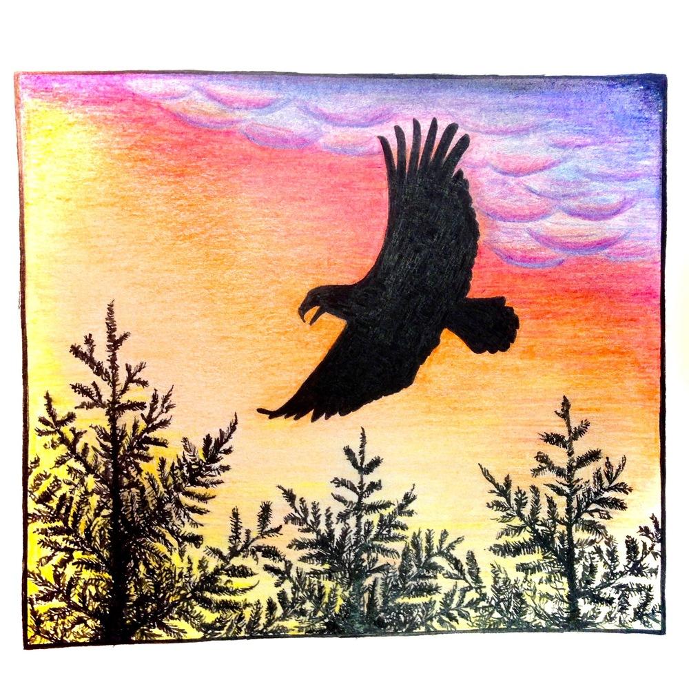 Fly Eagle Fly: Artwork by Grupo Ollin