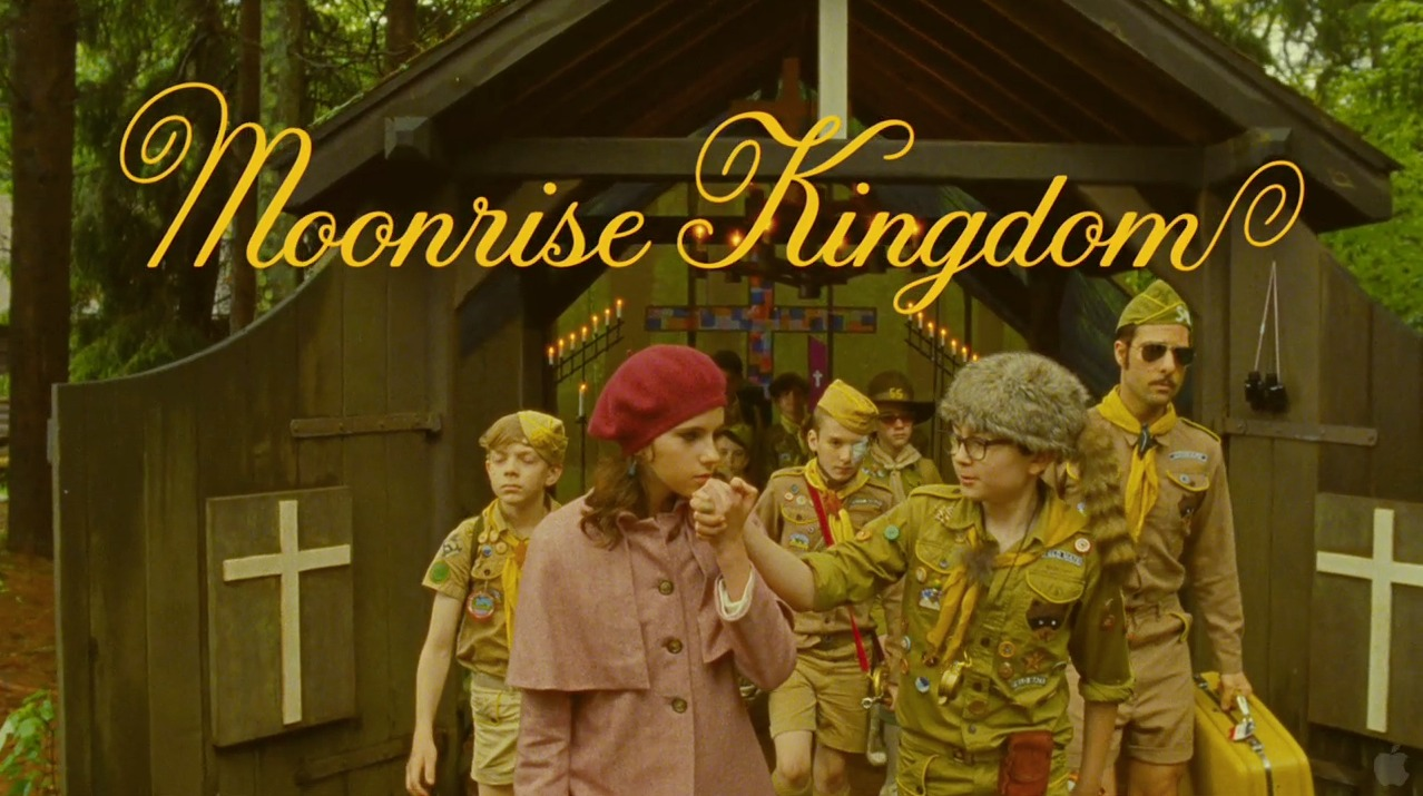 Wes Anderson's Moonrise Kingdom. I'm giddy with anticipation. I want to wake up inside a Wes Anderson movie. My secret ambition to work together on a product one day. http://trailers.apple.com/trailers/focus_features/moonrisekingdom/