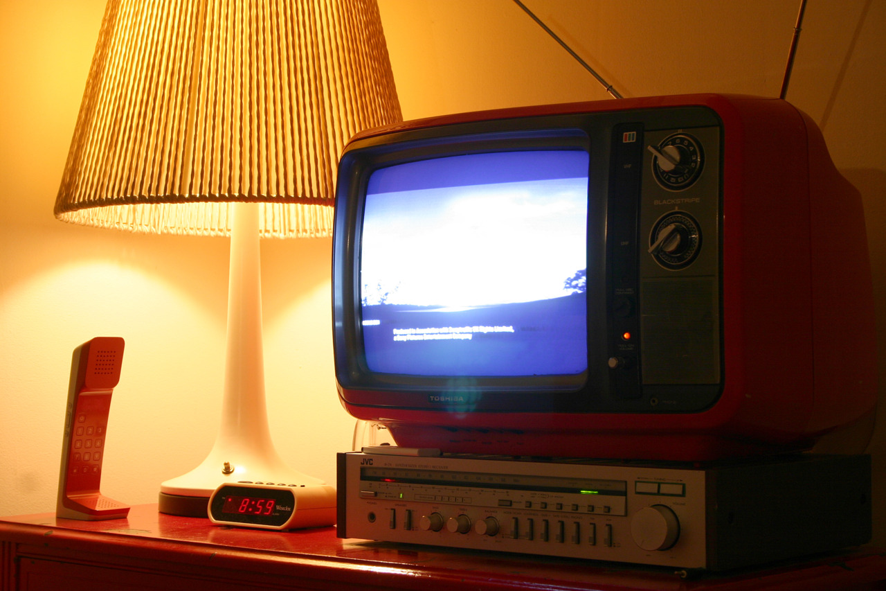 September 31, 2011 marked the end of the analogue television broadcast signal. I am one of a reported 800,000 Canadians effected by the digital switchover. In other words, I do not have a digital enabled tv, and I do not subscribe to cable service. Pictured is my Toshiba model C395C television, manufacted May 1979. Here is an electronic device built to last. So long, in fact, it outlasted the broadcast network supporting it. Congratulations to Toshiba for producing an incredibly well built product. I went down the street to the tv/radio repair shop to discuss digital converters. The decades old store had vanished and had been replaced by a cell phone provider. I guess they releazed everything in their store was obsolete.