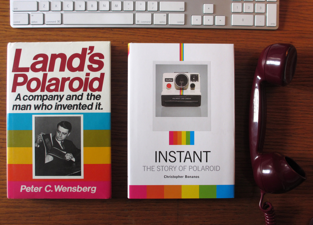 Polaroid book covers.JPG
