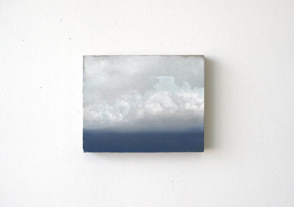 Cloud Study,  2011. oil on canvas