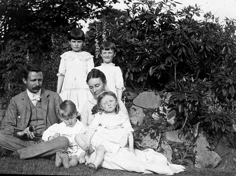 The Nettlefold family who built the house