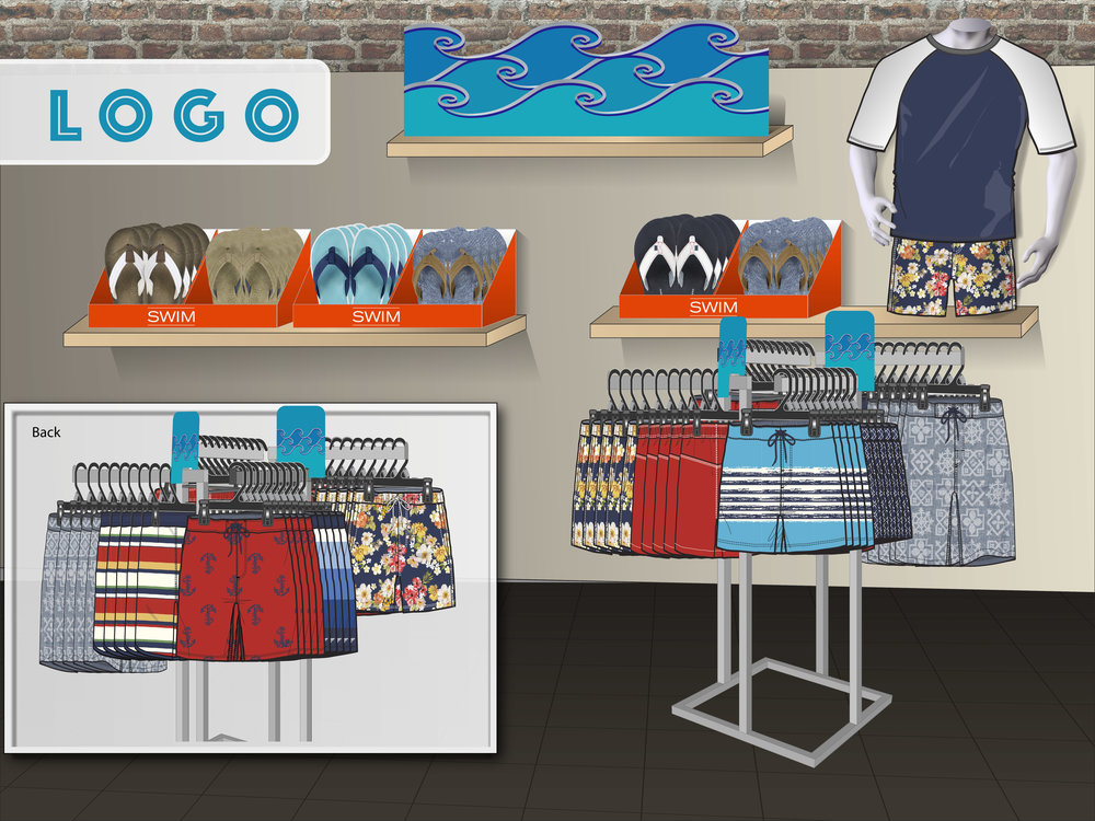 Footwear and Apparel Store Concept