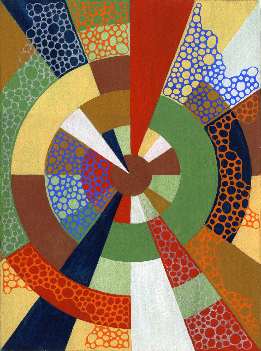 Untitled 012615 Homage to Sonia Delaunay