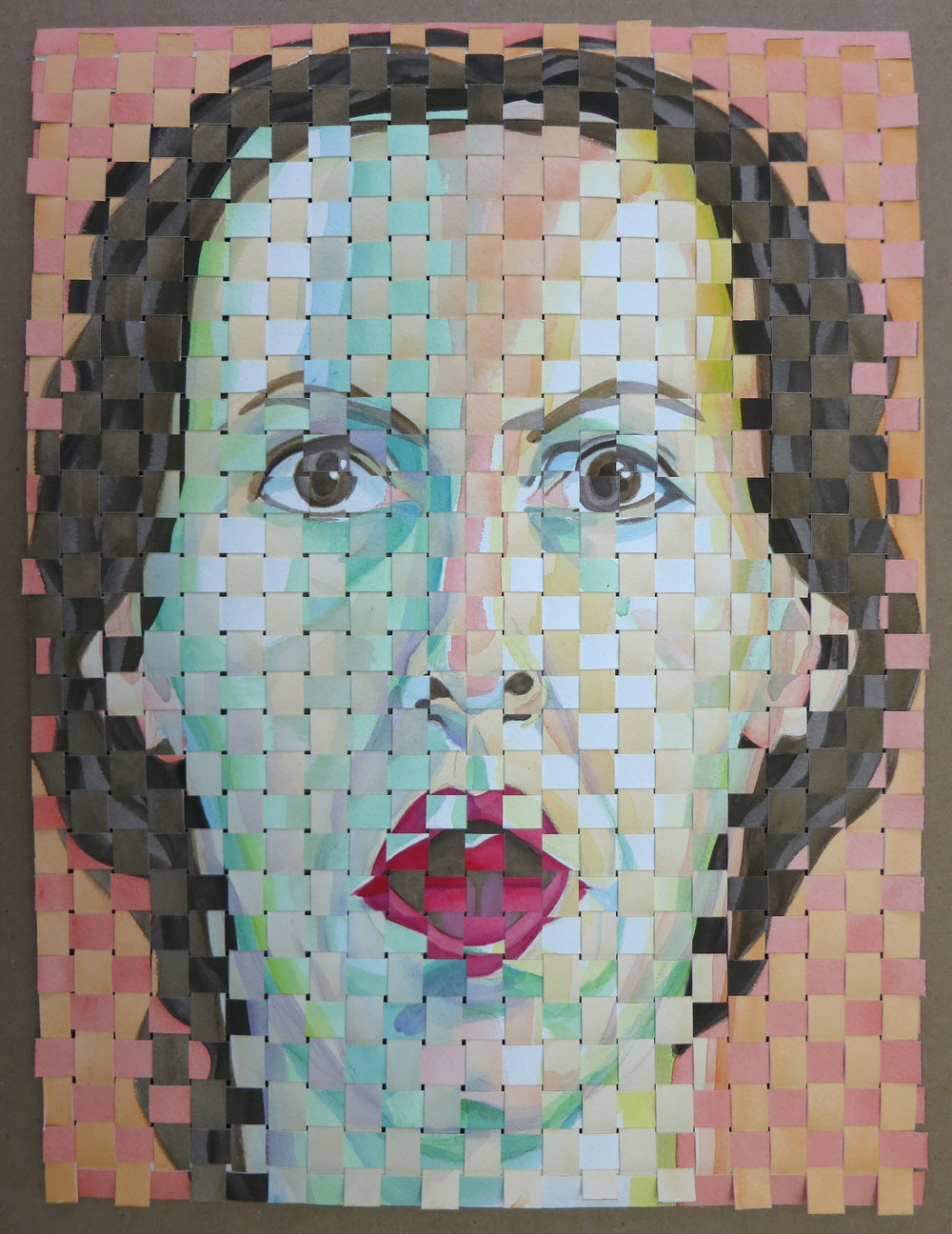 Woven Self-Portrait 012217