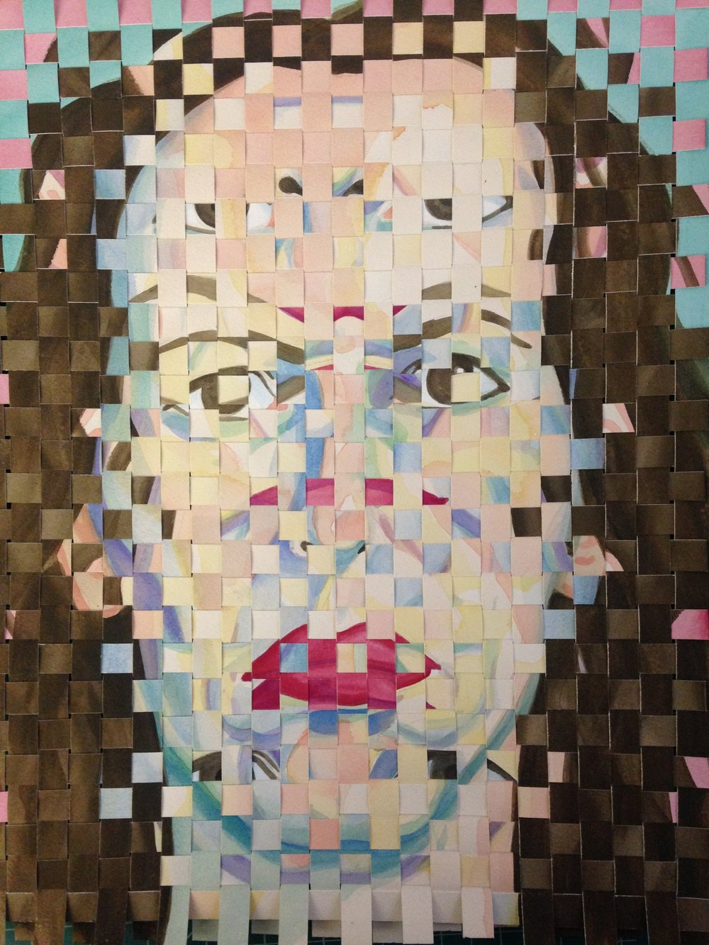 Woven Self-Portrait 030717