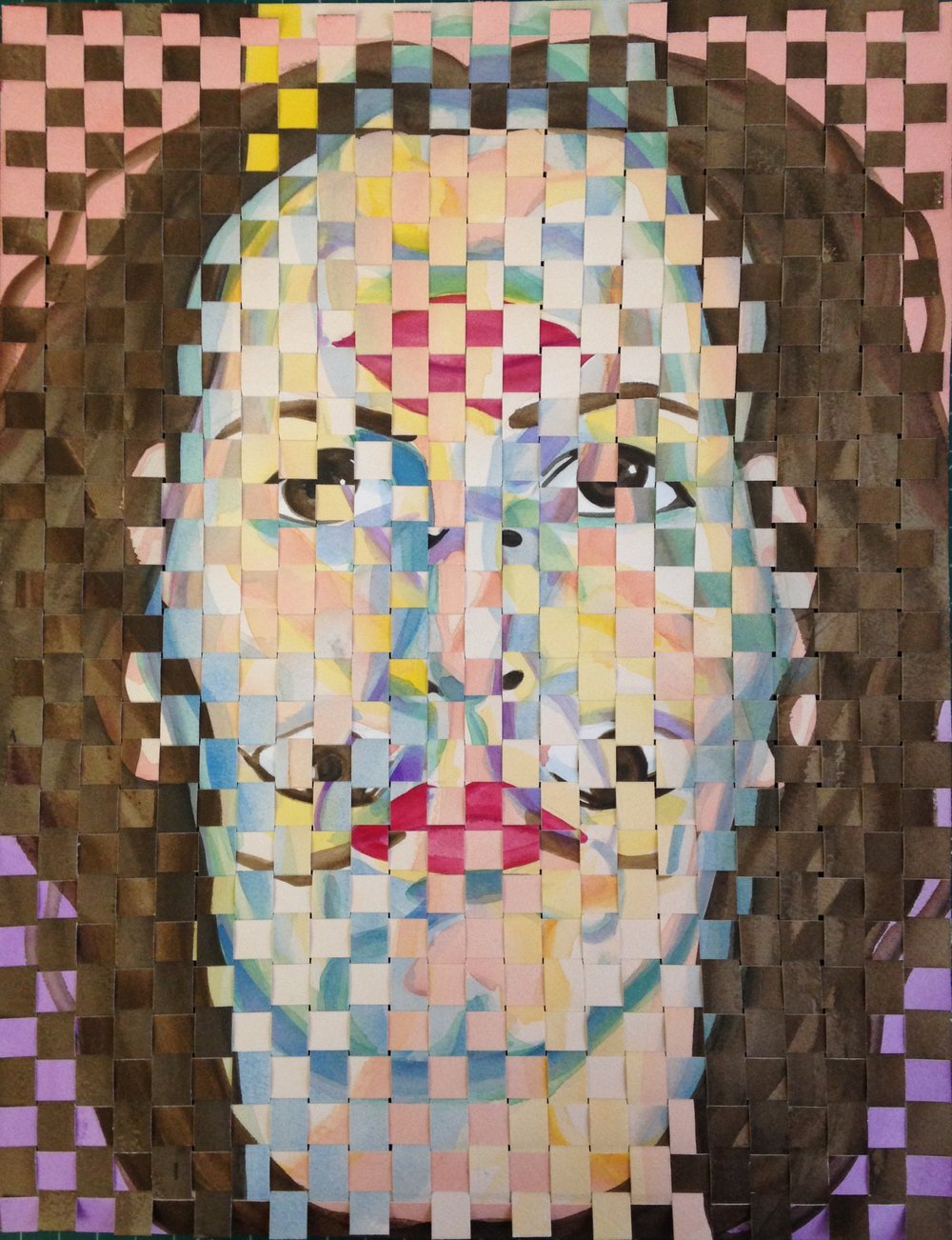 Woven Self-Portrait 03817