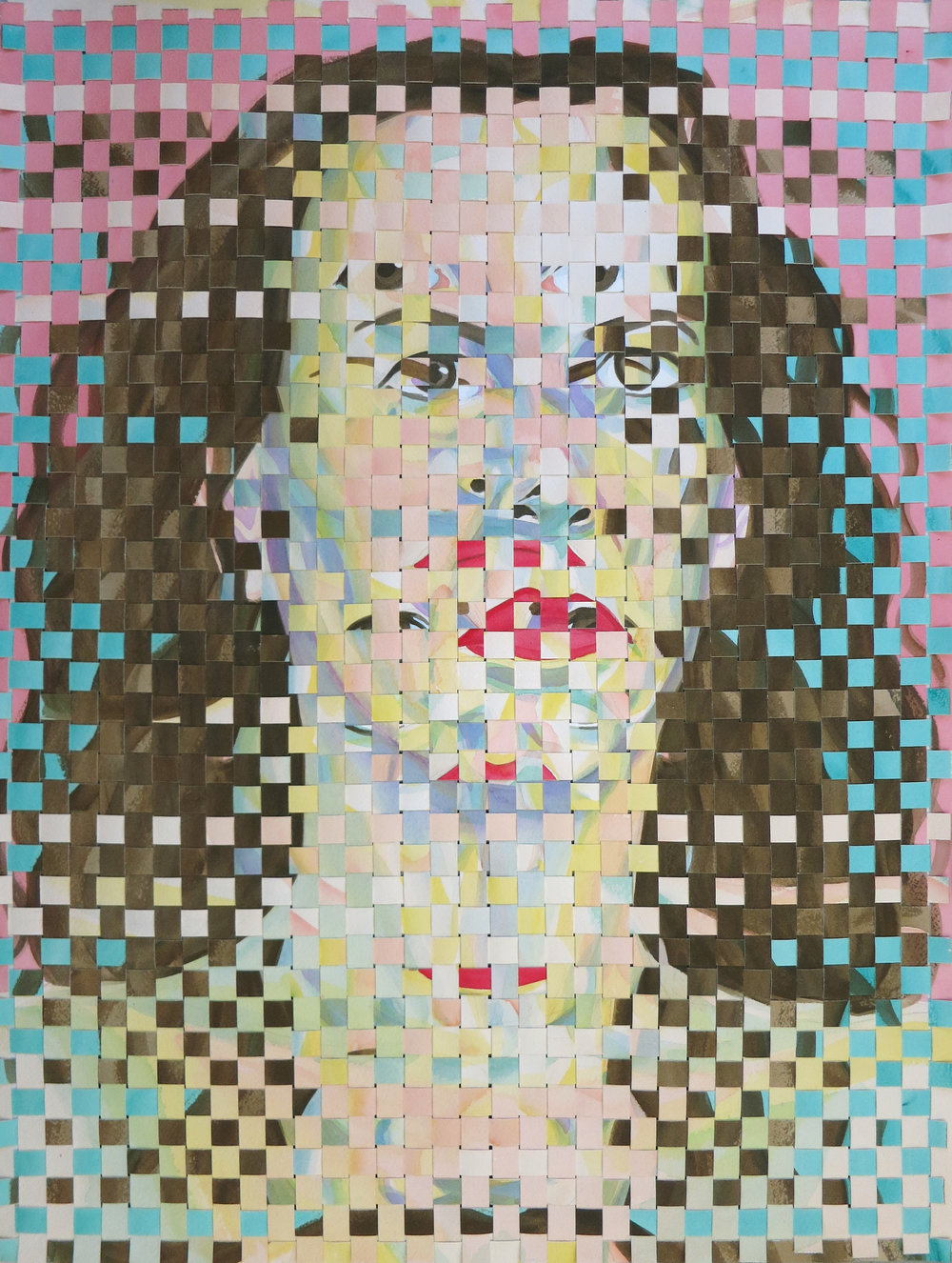 "Woven Self-Portrait 031517 ""The Ides"""