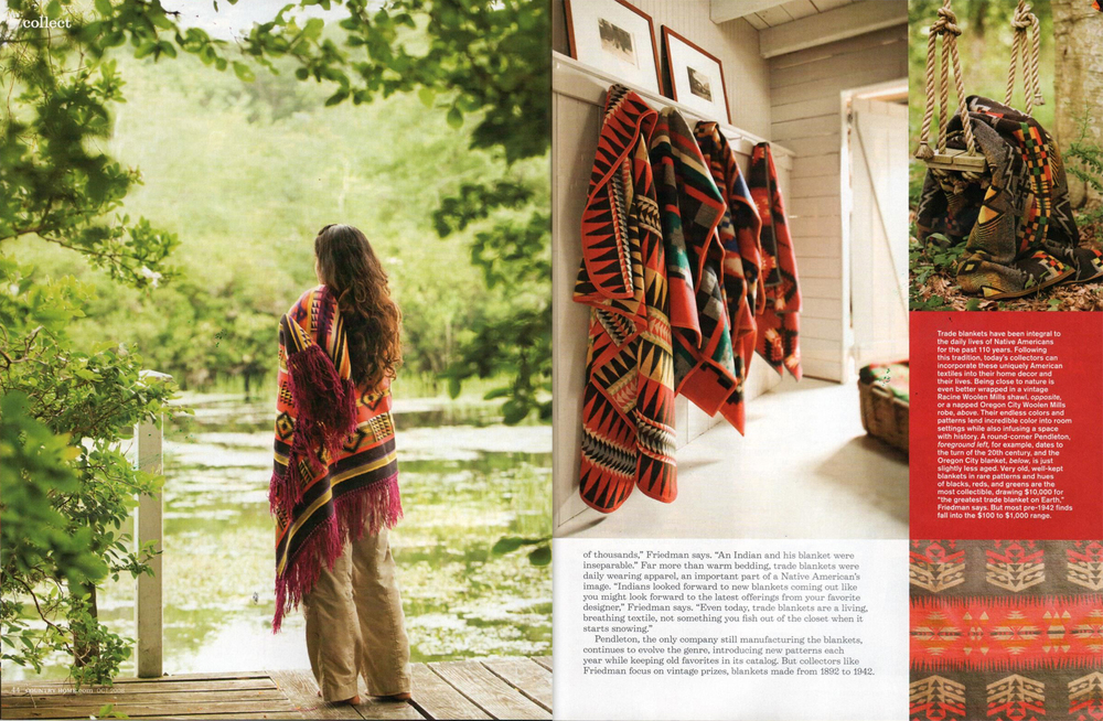 Country Home Magazine redesign, feature