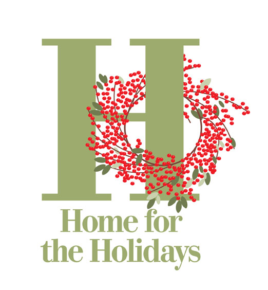 BHG.com Home for the Holidays logo