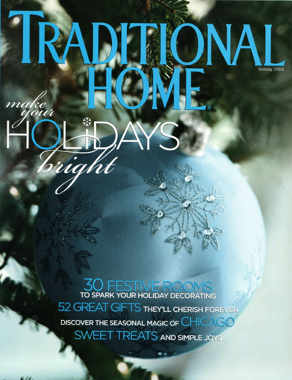 Traditional Home Magazine Cover Design