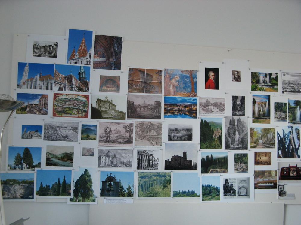Liszt Au Cypres de Villa d'Este whole wall.JPG