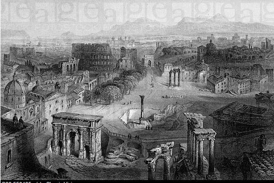 Roman Forum 1850.jpg