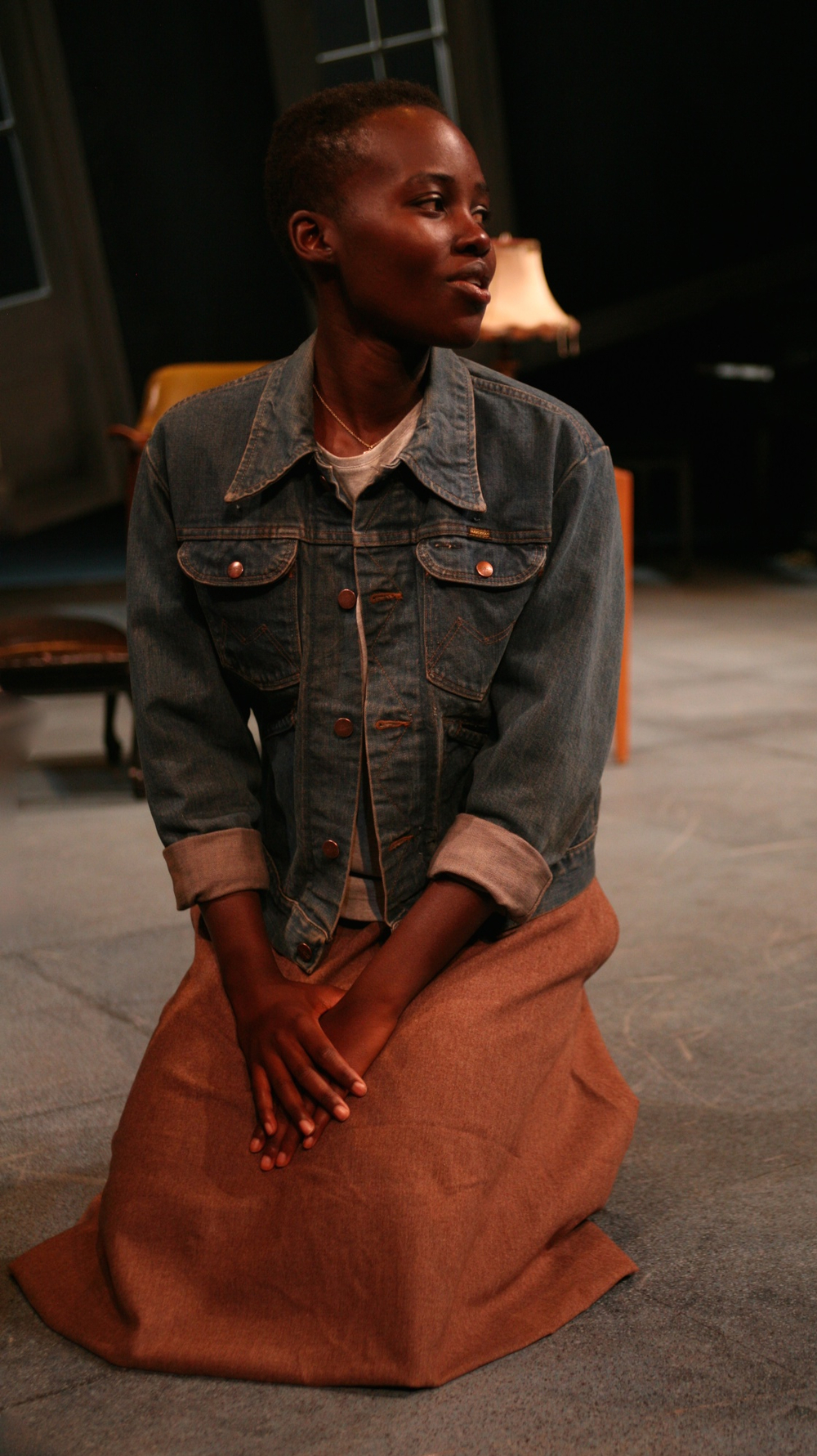 Another image of Lupita Nyong'o performing in YSD's 2010 production of Uncle Vanya.