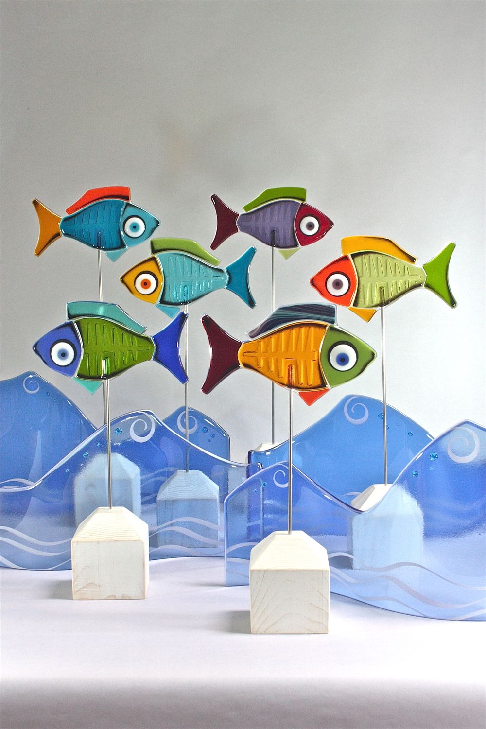 Our Fish are the perfect addition to any washroom.