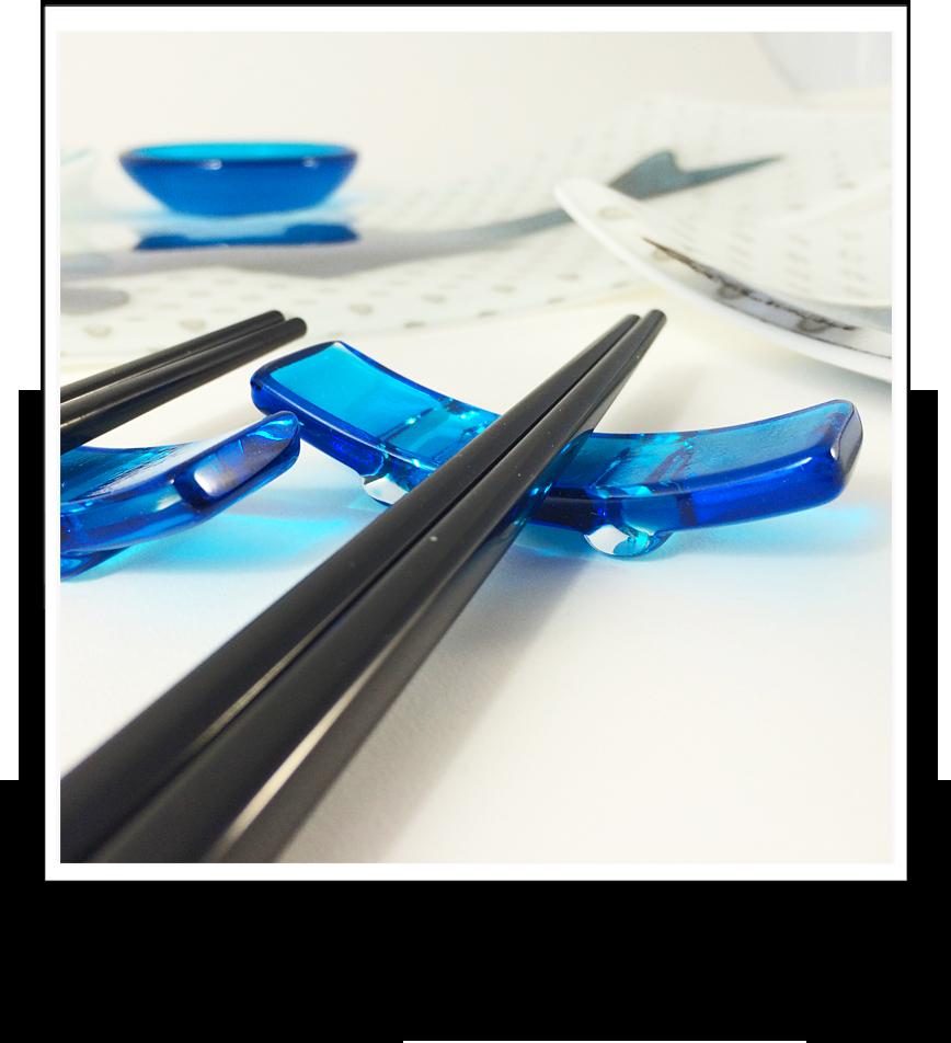 Sushi illuminiati glassworks for Blue fish sushi