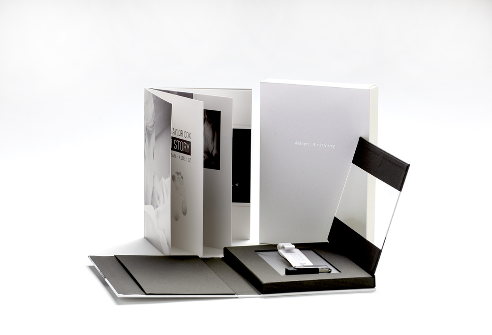 New - USB/KEEPSAKE PRESENTATION BOOK