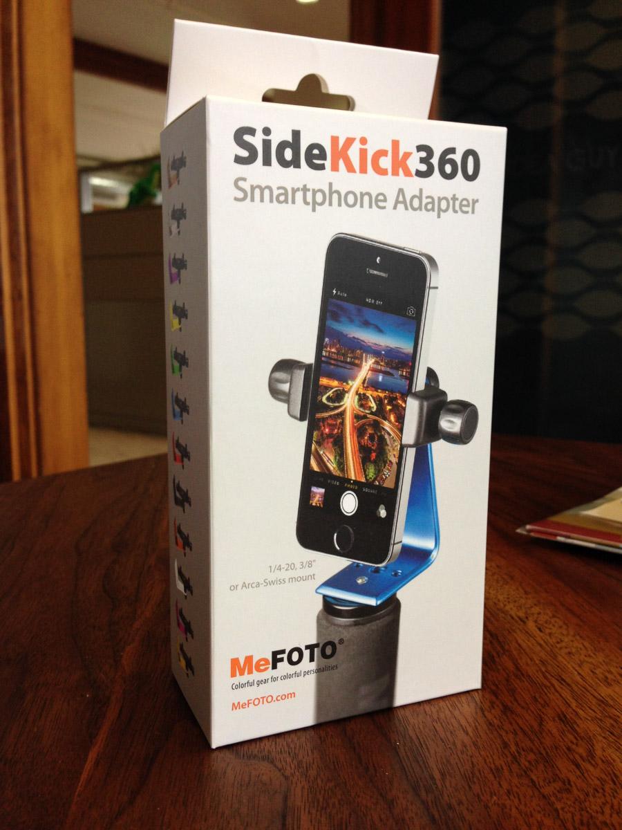 the SideKick360 from MeFOTO.com
