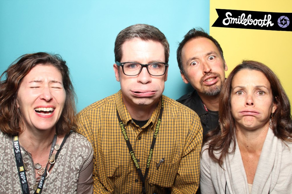 The Smilebooth has a magical effect on you.