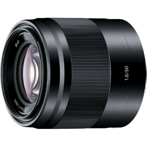 One of my favorite lenses for the Sony camera is this 50mm f1.8. It's incredibly sharp!