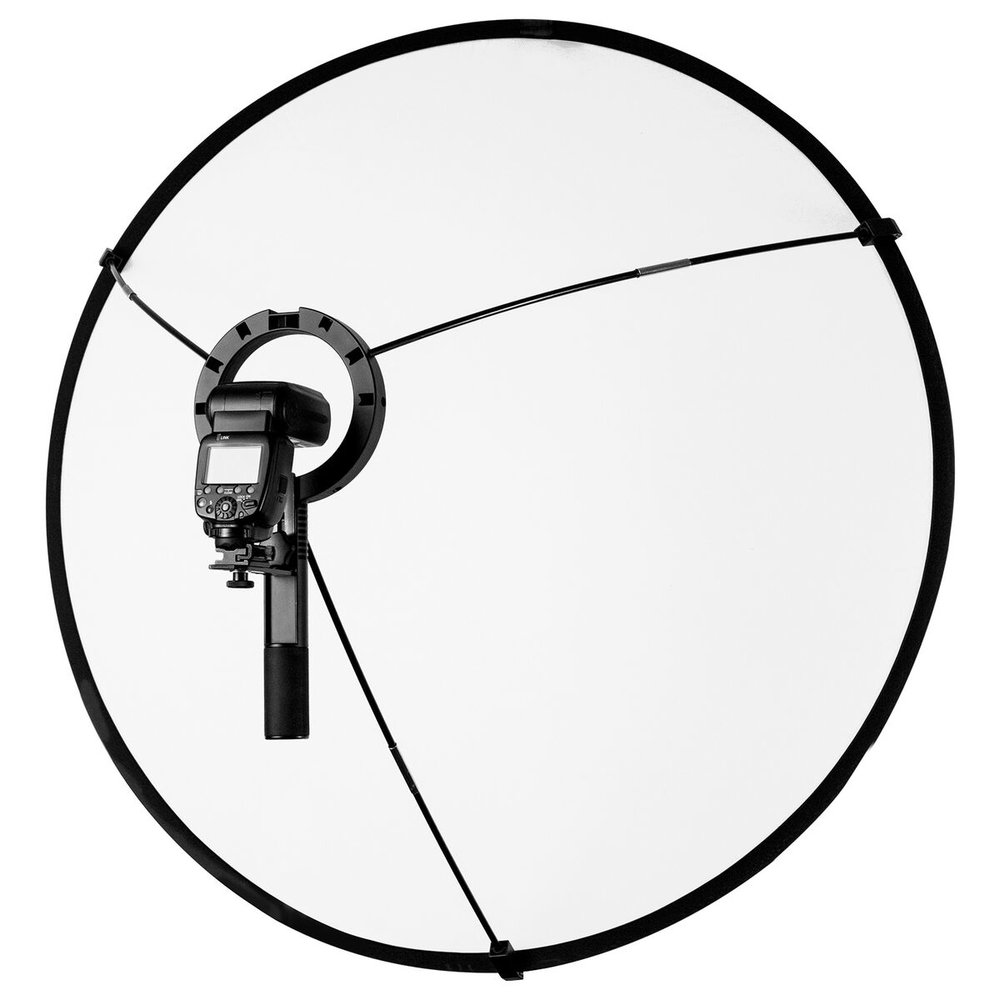 The Westcott LunaGrip is a versatile light modifier for your flash or constant light source.