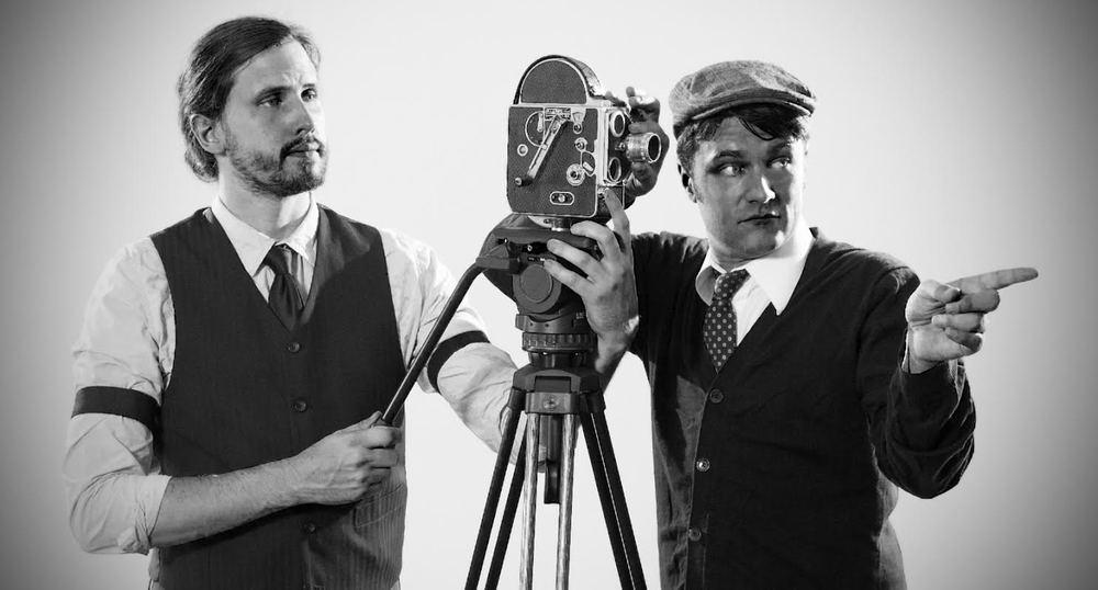 A stori A film founders, John Gebhart andAndrew Waffenschmidt.