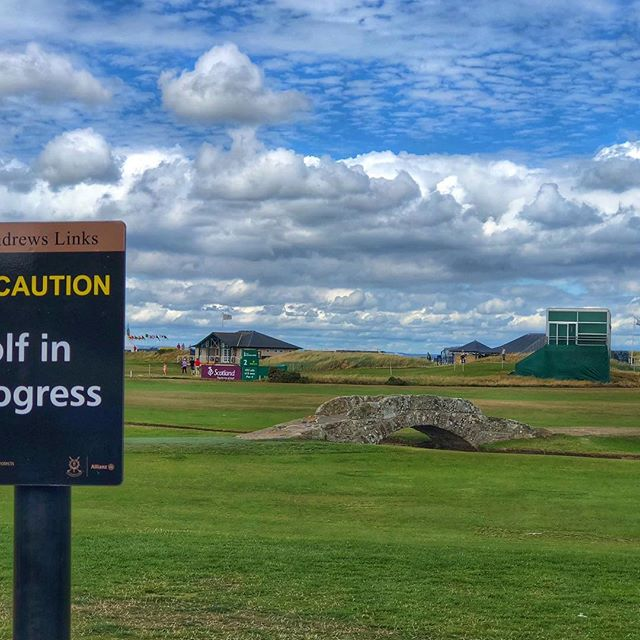#swilkenbridge #standrews #scotland #golf #senioropen