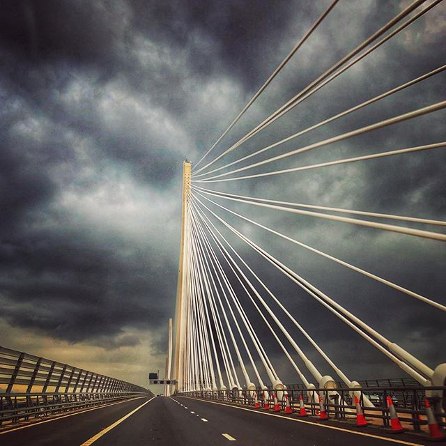 #queensferrycrossing #perth #scotland #cablebridge #edinburgh