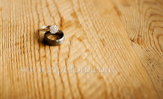 Rings on wood grain by Ripe Photography.