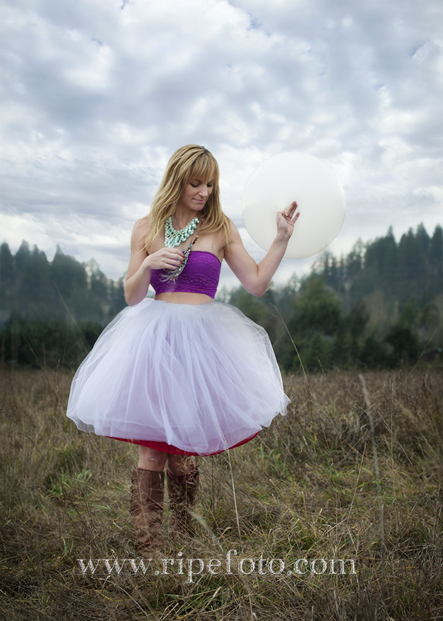 Conceptual portrait by Ripe Photography outside Portland, Oregon.