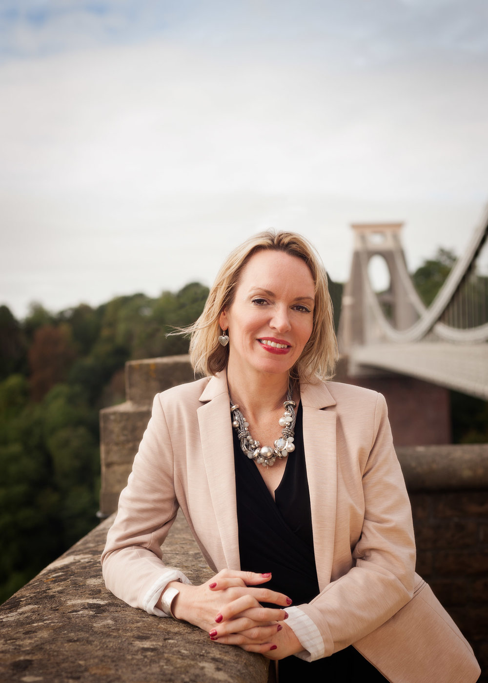 Commercial portrait of realtor on Bristol background by commercial photographers at Ripe Photography in the U.K.