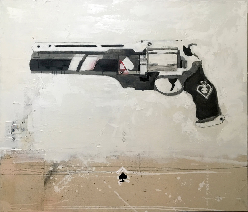 Ace of Spades (D1/Variant) - 36x42""