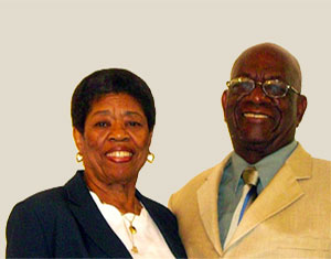 Our Minister,Larry Smith and his wife, Patricia