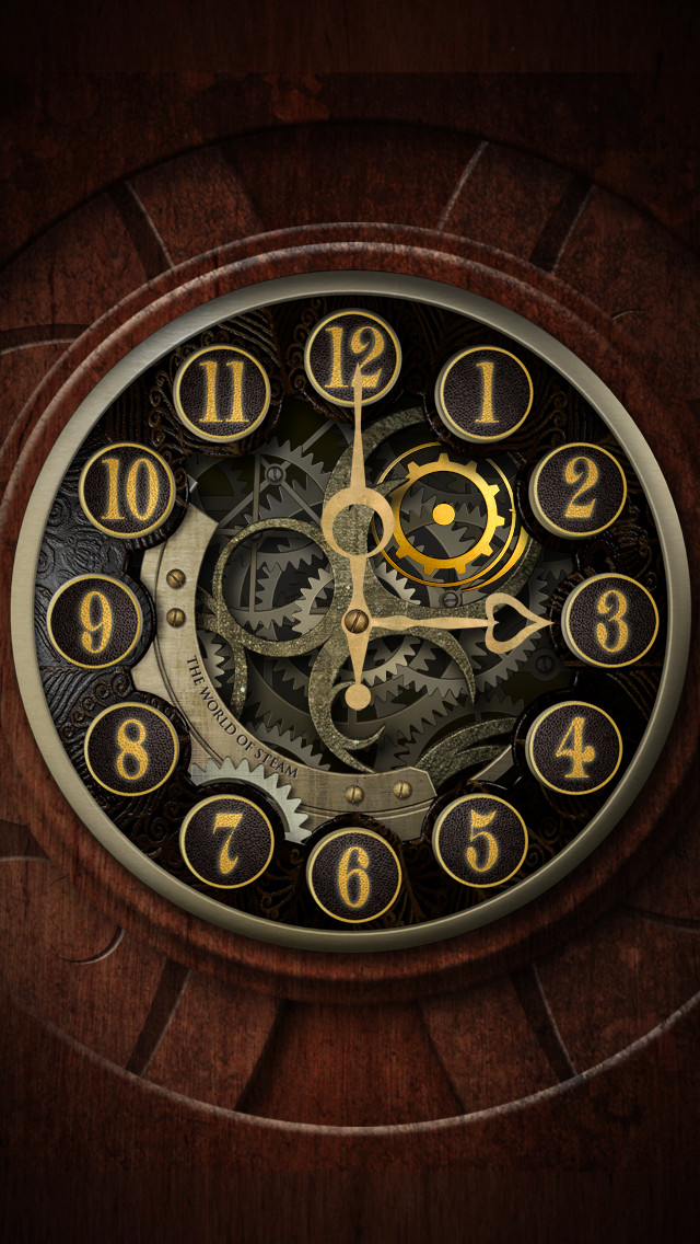 The Gold Clockface...