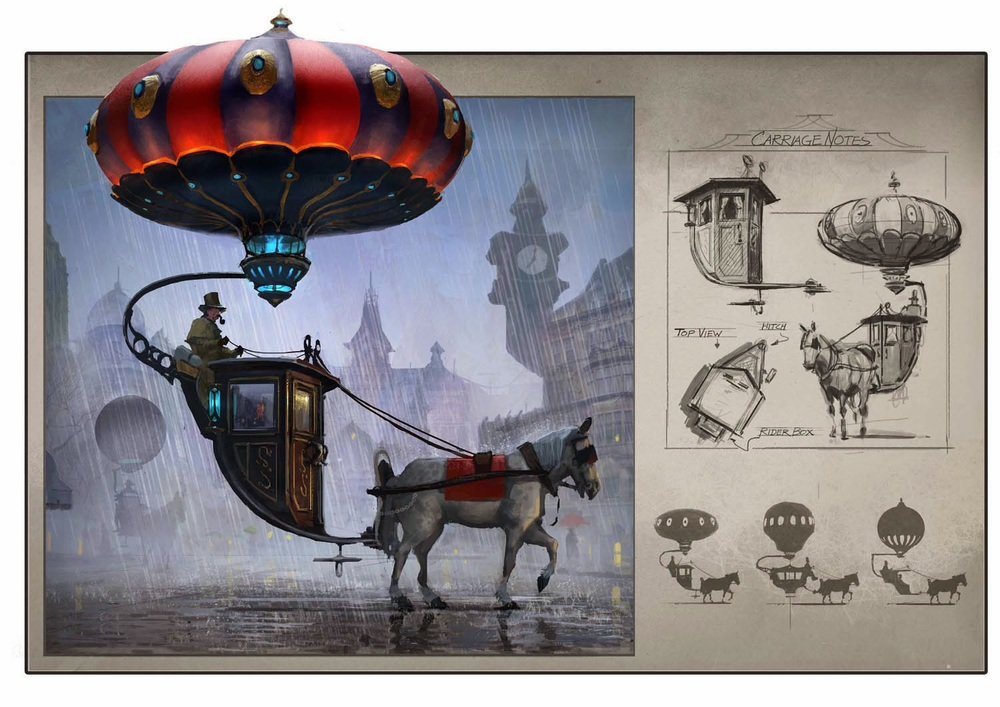 Steampunk Carriage designed by Chad Weatherford...