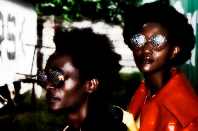 C-Stunners by Cyrus Kabiru  (art glasses) and Sylvia Gichia (Photo)